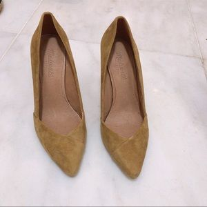 Madewell Pumps (perfect fall 🍂 color) sz 7